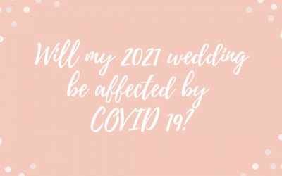 Will my 2021 wedding be affected by Covid 19?